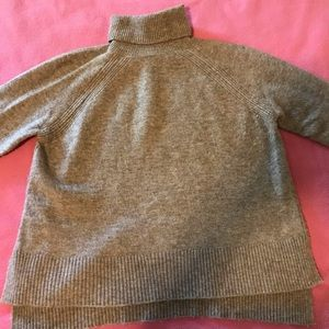 Vince Camuto Turtleneck Sweater -brown/oatmeal